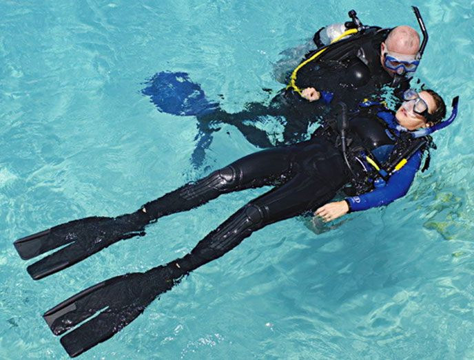 Stress and Rescue Specialty SCUBA Class