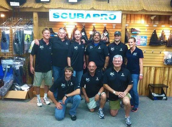 Mac's Sports Inc Staff Group Photo
